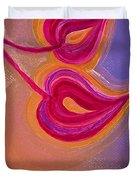 Sisters by jrr Duvet Cover by First Star Art