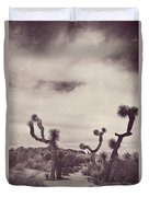 Skies May Fall Duvet Cover by Laurie Search