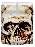 Skull Duvet Cover by Anastasiya Malakhova