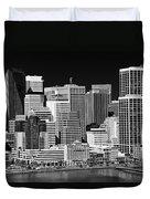 Skyline San Francisco Duvet Cover by Ralf Kaiser