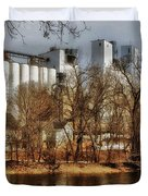 Small Co-op 2 Duvet Cover by Todd and candice Dailey