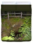 Smithwick Copper Mine Isle Royale National Park Duvet Cover by Jason O Watson