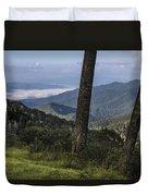 Smokey Mountain View Duvet Cover by John McGraw