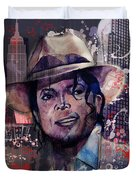 Smooth Criminal Duvet Cover by MB Art factory
