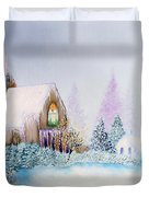 Snow in Florida Duvet Cover by David Kacey