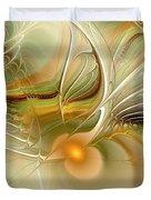 Soft Wings Duvet Cover by Anastasiya Malakhova