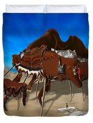 Softe Grand Piano Se Duvet Cover by Mike McGlothlen