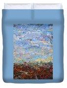 Soil Turmoil Duvet Cover by James W Johnson