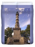 Soldiers And Sailors Monument - Boston Duvet Cover by Joann Vitali