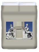 Soldiers Monument Detail Duvet Cover by Paul W Faust -  Impressions of Light