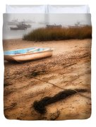 Someday My Ship Will Come In Duvet Cover by Bill  Wakeley