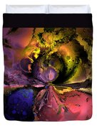Song Of The Cosmos Duvet Cover by Claude McCoy