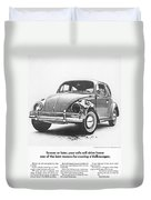 Sooner Or Later Your Wife Will Drive Home.............. Duvet Cover by Georgia Fowler
