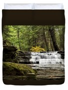 Soothing Waters Duvet Cover by Christina Rollo