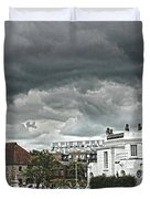 Southampton Royal Pier Hampshire Duvet Cover by Terri  Waters