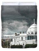 Southampton Royal Pier Hampshire Duvet Cover by Terri Waters