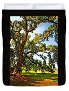 Southern Comfort Painted Duvet Cover by Steve Harrington