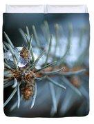 Sparkling Pine Duvet Cover by Darren Fisher