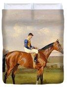 Spearmint Winner of the 1906 Derby Duvet Cover by Emil Adam
