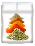 Spices Duvet Cover by Elena Elisseeva