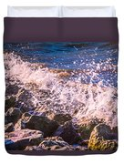 Splashes Duvet Cover by Dawn OConnor
