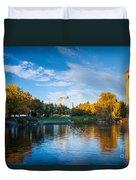 Spokane Reflections Duvet Cover by Inge Johnsson