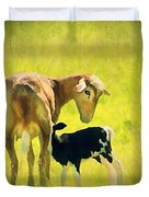 Spring Baby Duvet Cover by Darren Fisher