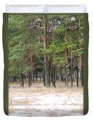 Spring In Pinery Duvet Cover by Evgeny Pisarev