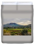 Spring Time In The Valley Duvet Cover by Robert Bales
