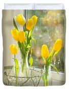 Spring Tulips Duvet Cover by Amanda And Christopher Elwell