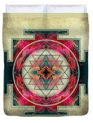 Sri Yantra  Duvet Cover by Filippo B
