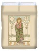 St Bartholomew Duvet Cover by English School