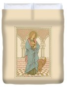 St John The Evangelist Duvet Cover by English School