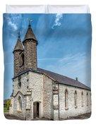 St Michael Church Duvet Cover by Adrian Evans