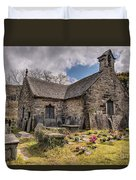 St Michaels Church Duvet Cover by Adrian Evans
