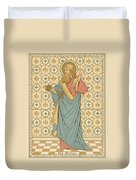 St Peter Duvet Cover by English School
