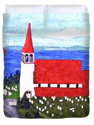 St. Philip's Church Duvet Cover by Barbara Griffin