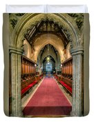 St Twrog Church Duvet Cover by Adrian Evans