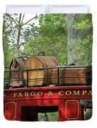 Stage Coach Duvet Cover by Rick  Monyahan