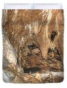 stalactites Duvet Cover by Michal Boubin
