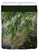 Stalking Trout Duvet Cover by John Stephens