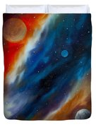 Star System 2034 Duvet Cover by James Christopher Hill