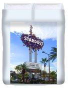 Stardust Sign Duvet Cover by Mike McGlothlen