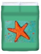 Starfish Duvet Cover by Patricia Awapara