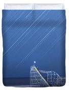 Starjet under the Stars Duvet Cover by Michael Ver Sprill