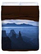 Starlit Mesa  Duvet Cover by Dustin  LeFevre