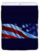 STARS and BARS Duvet Cover by Julie Brugh Riffey