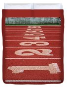 Starting Line Duvet Cover by Shoal Hollingsworth