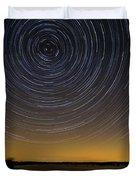 Startrails 3 Duvet Cover by Benjamin Reed