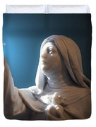 Statue 22 Duvet Cover by Thomas Woolworth